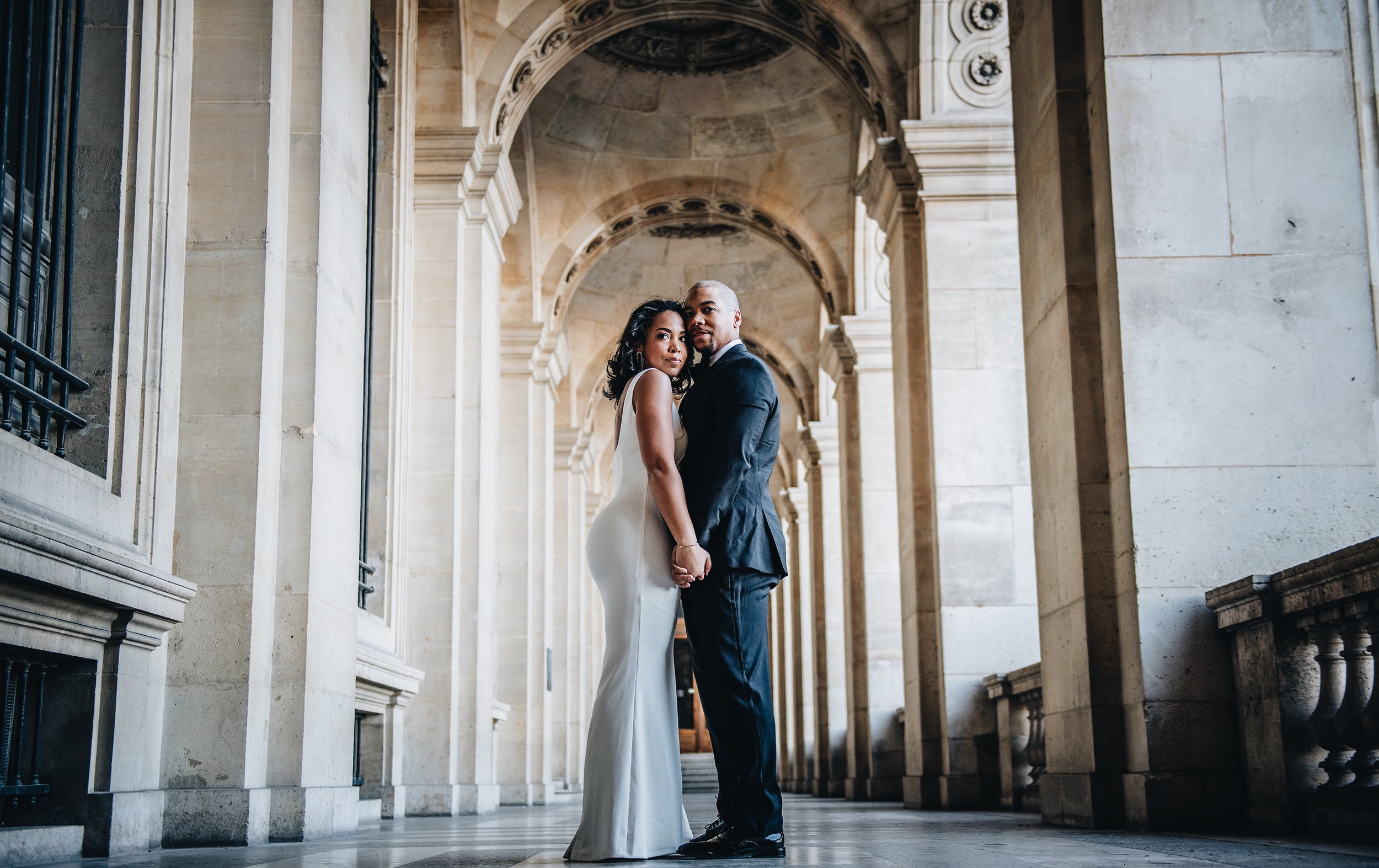 paris-engagement-session-the-louvre-katie-may-lucy-dress-anthropologie-bhldn-bridal-gown-bridesmaid-dress-the-black-tux-tuxedo-suit-rental-velvet-bow-tie-9.JPG