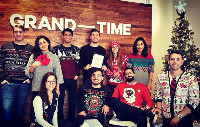 epic Black Friday weekend, and epic sweaters to match - missing @nudle12 @akbermeghani #holidays #deepellum #watches #sweaters