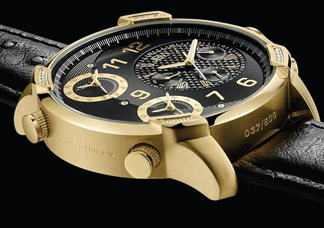only 500 made, the G4 Limited Edition in Gold and black Ostrich Italian leather #comingsoon #iconic #jbw