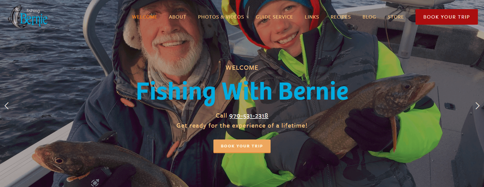 Fishing With Bernie