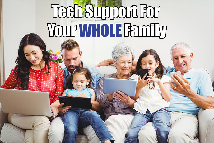 Online Tech Support For Your Whole Family