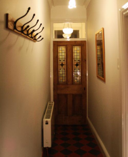 Victorian hallway refurbishment