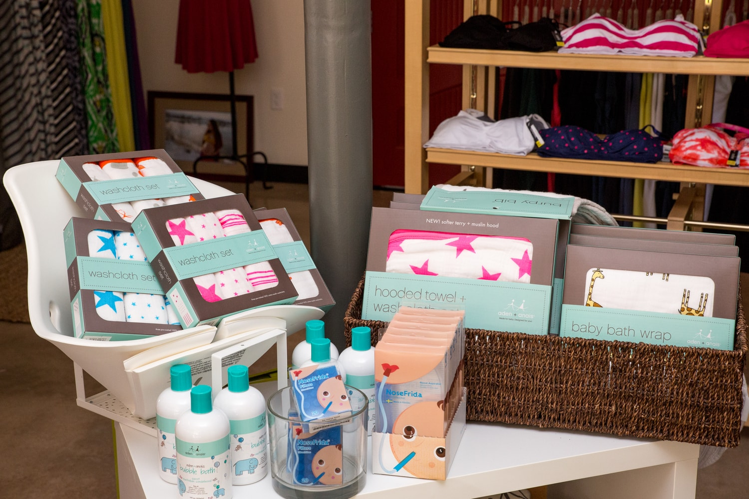 Baby Wash Clothes & Bath Accessories | mama 'hood Maternity Store Denver & Boulder, CO