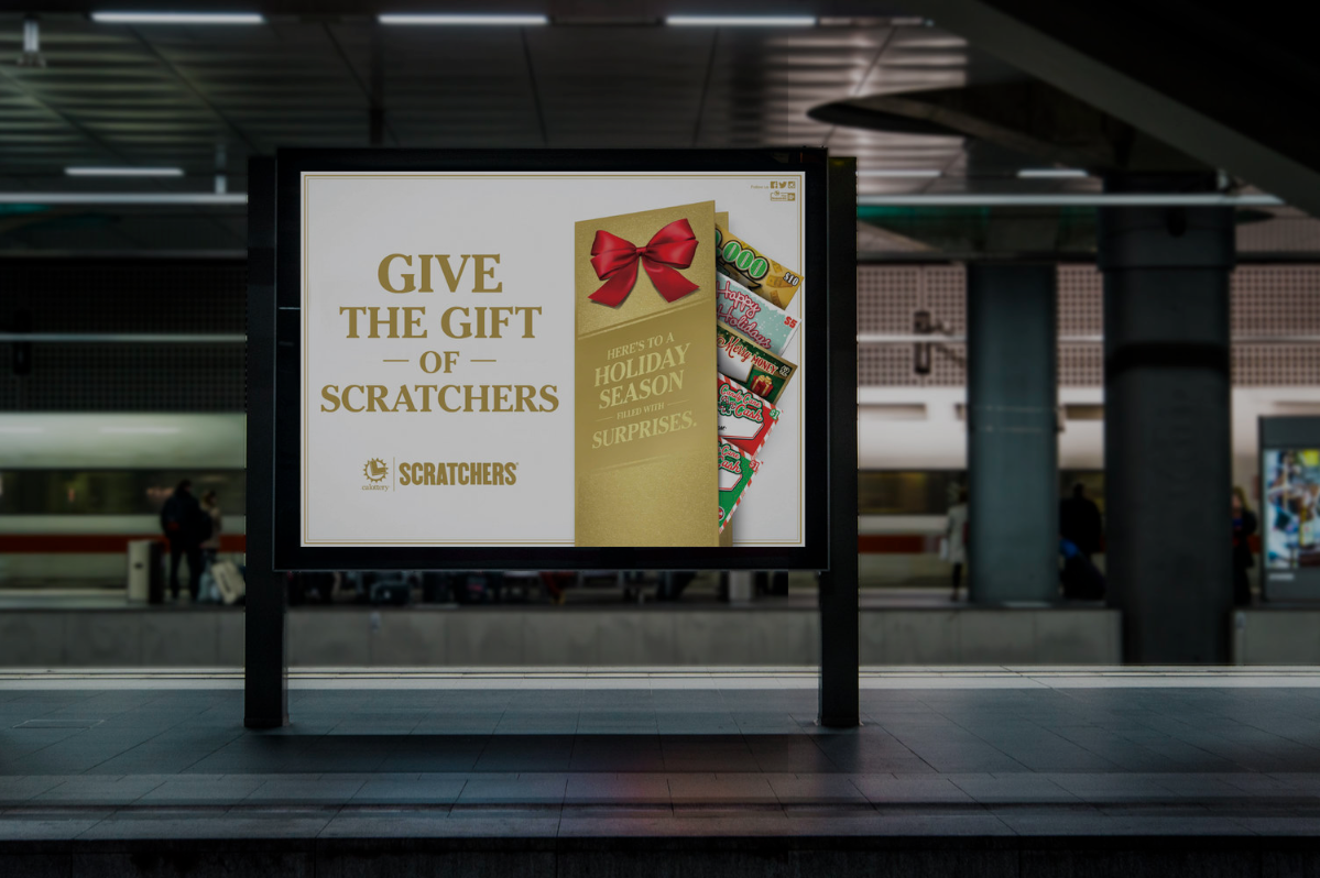 CALIFORNIA LOTTERY: GIVE THE GIFT OF SCRATCHERS | 360º CAMPAIGN -