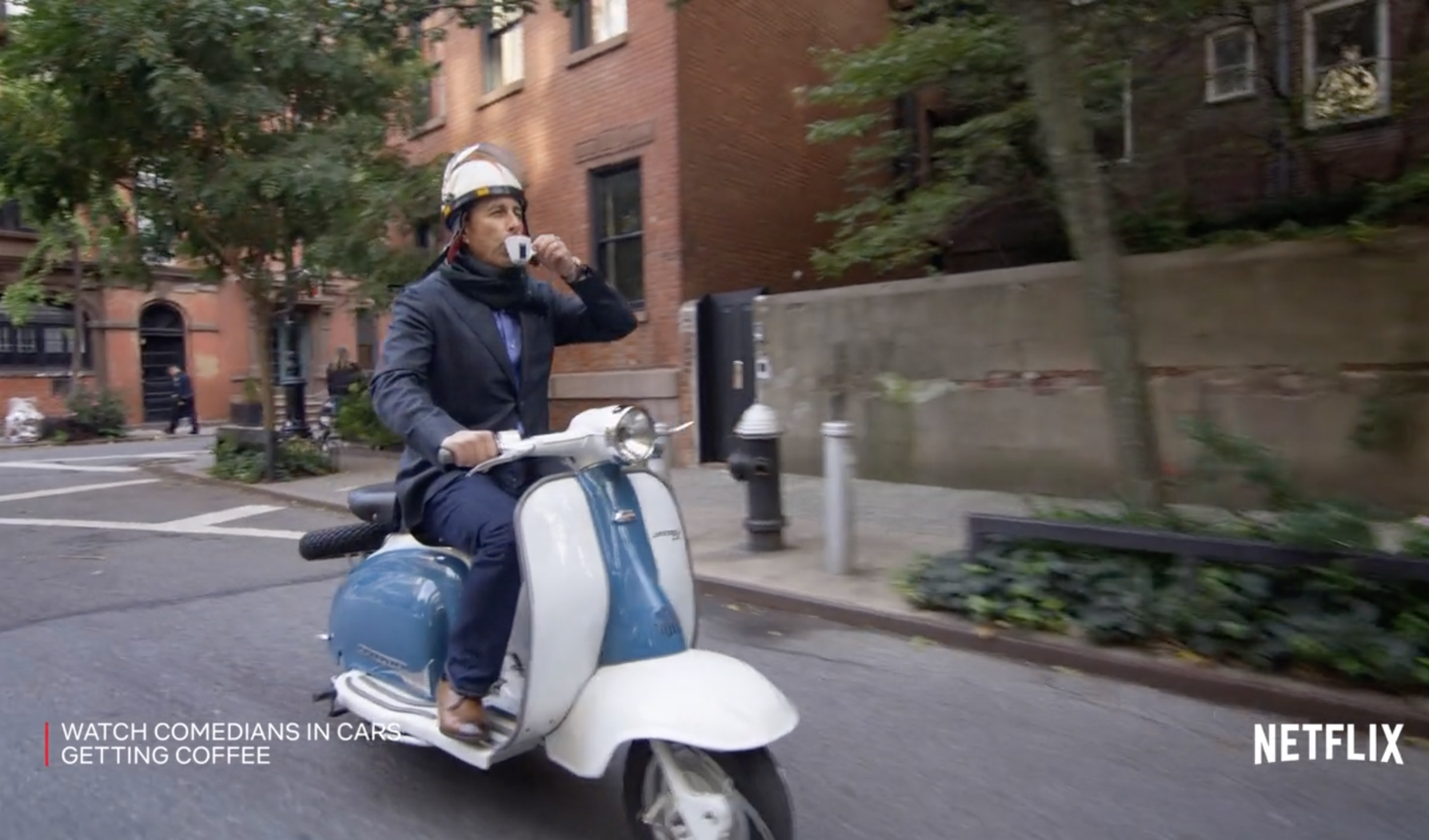 LAVAZZA: COMEDIANS IN CARS GETTING COFFEE S12 PARTNERSHIP | BROADCAST -