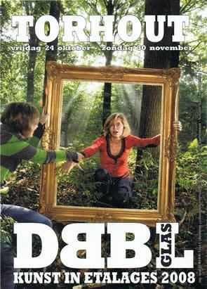 Dubbelglas Torhout: kunst in etalages: november 2008