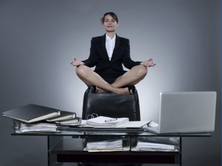 Deskersize! - Strengthening and Stretching Between Conference Calls #WellbeingWednesday -