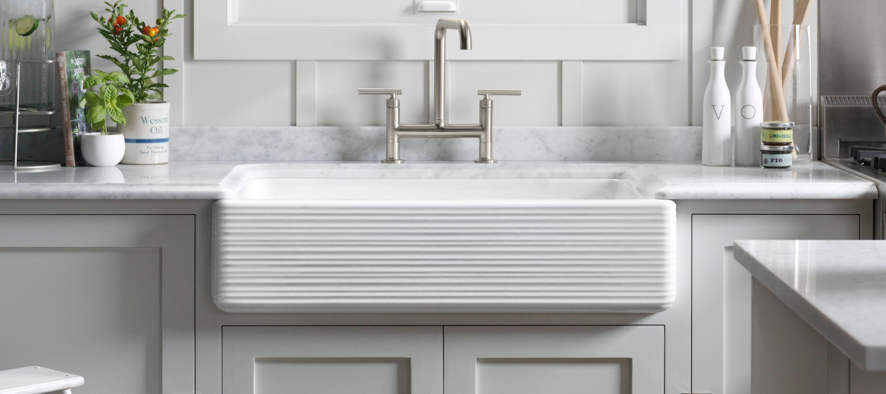 Everything and The Farmhouse Sink -