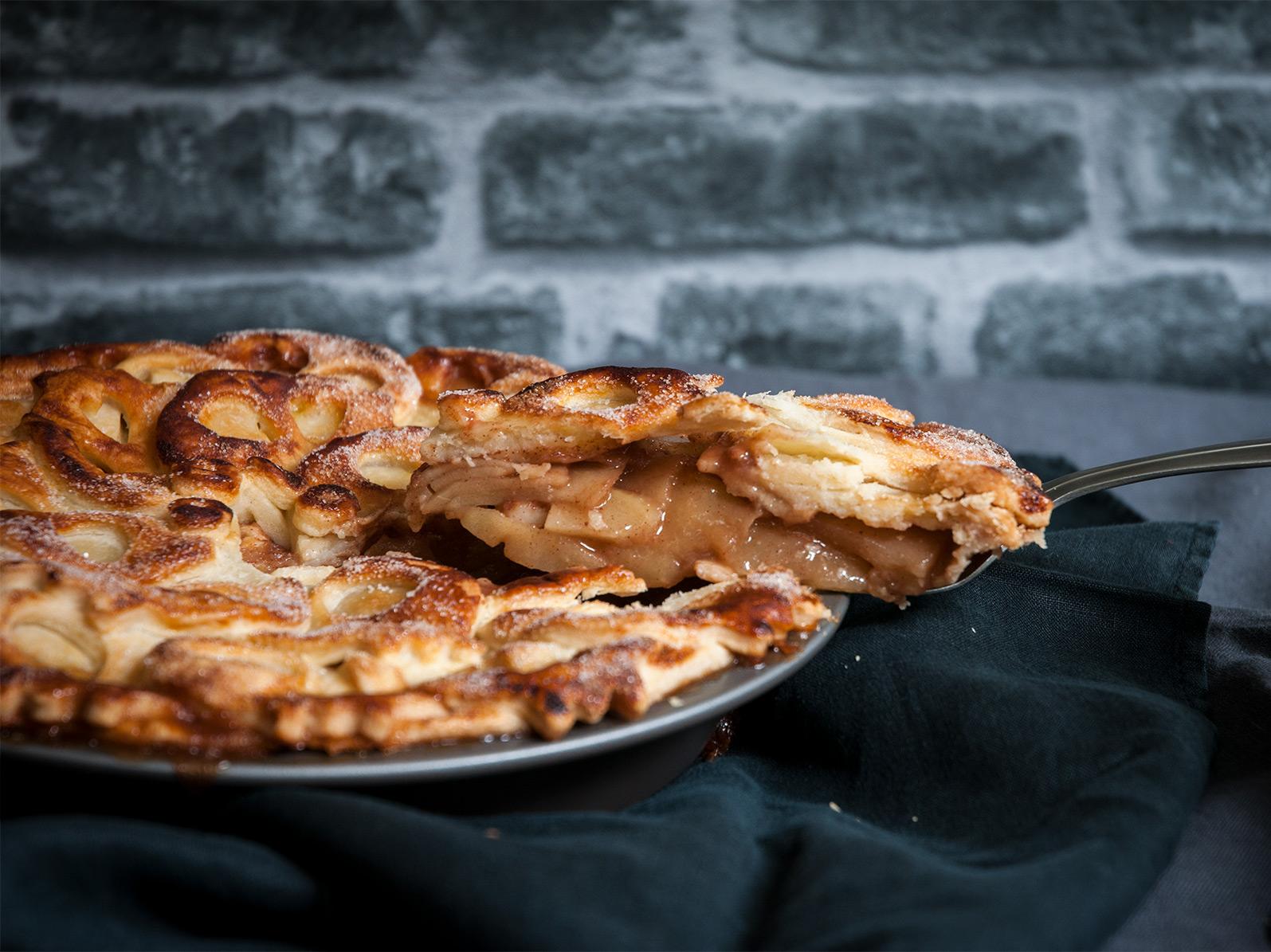 Or just a slice of delicios apple pie?