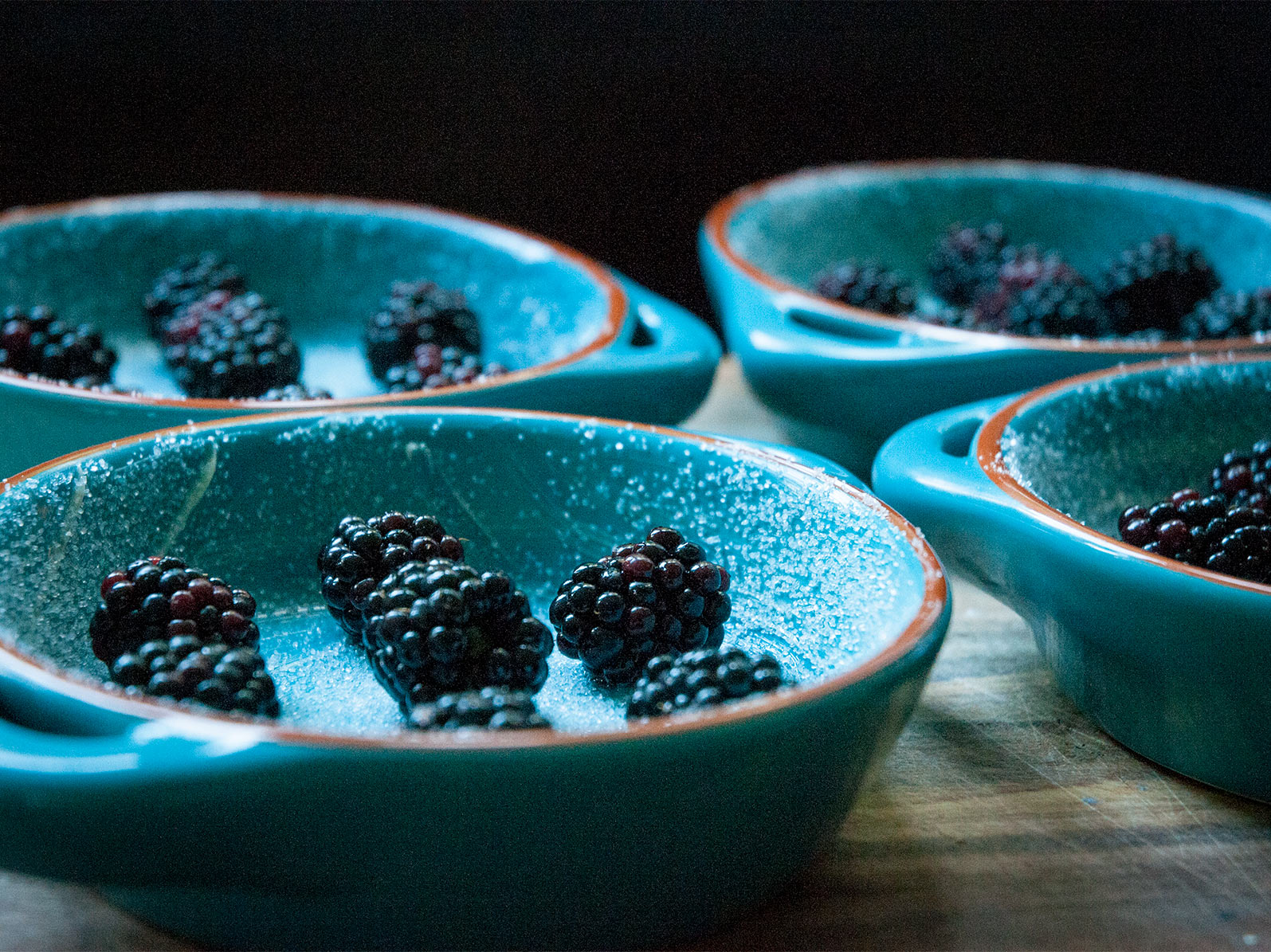 add the blackberries