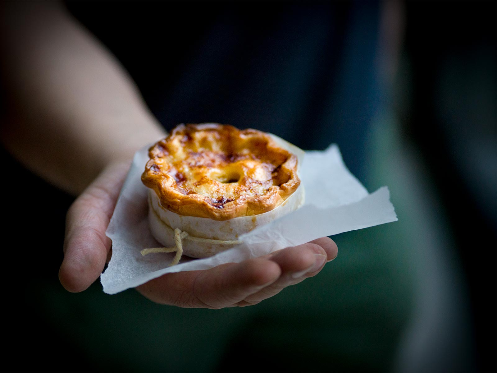 a pie in the hand - lamb scotch pies