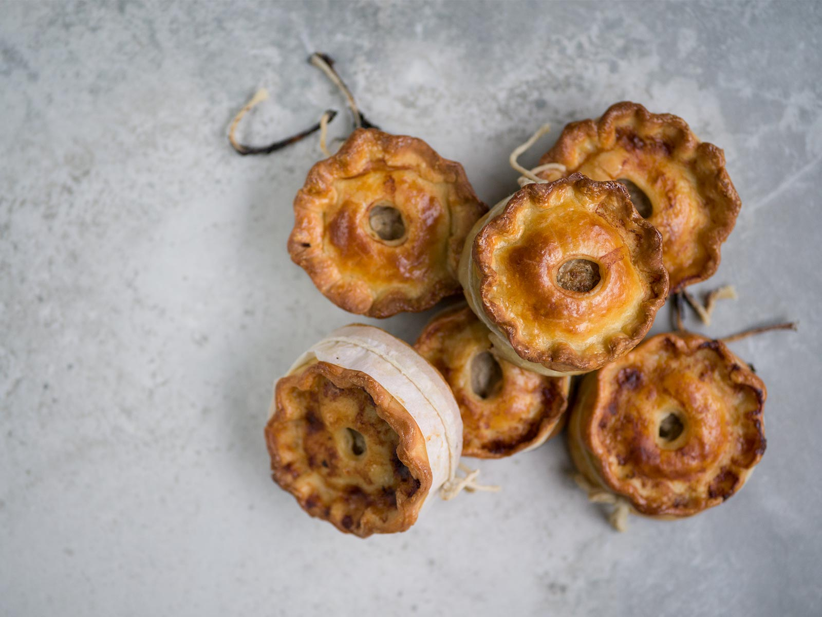 perfectly portable pies - lamb scotch pies