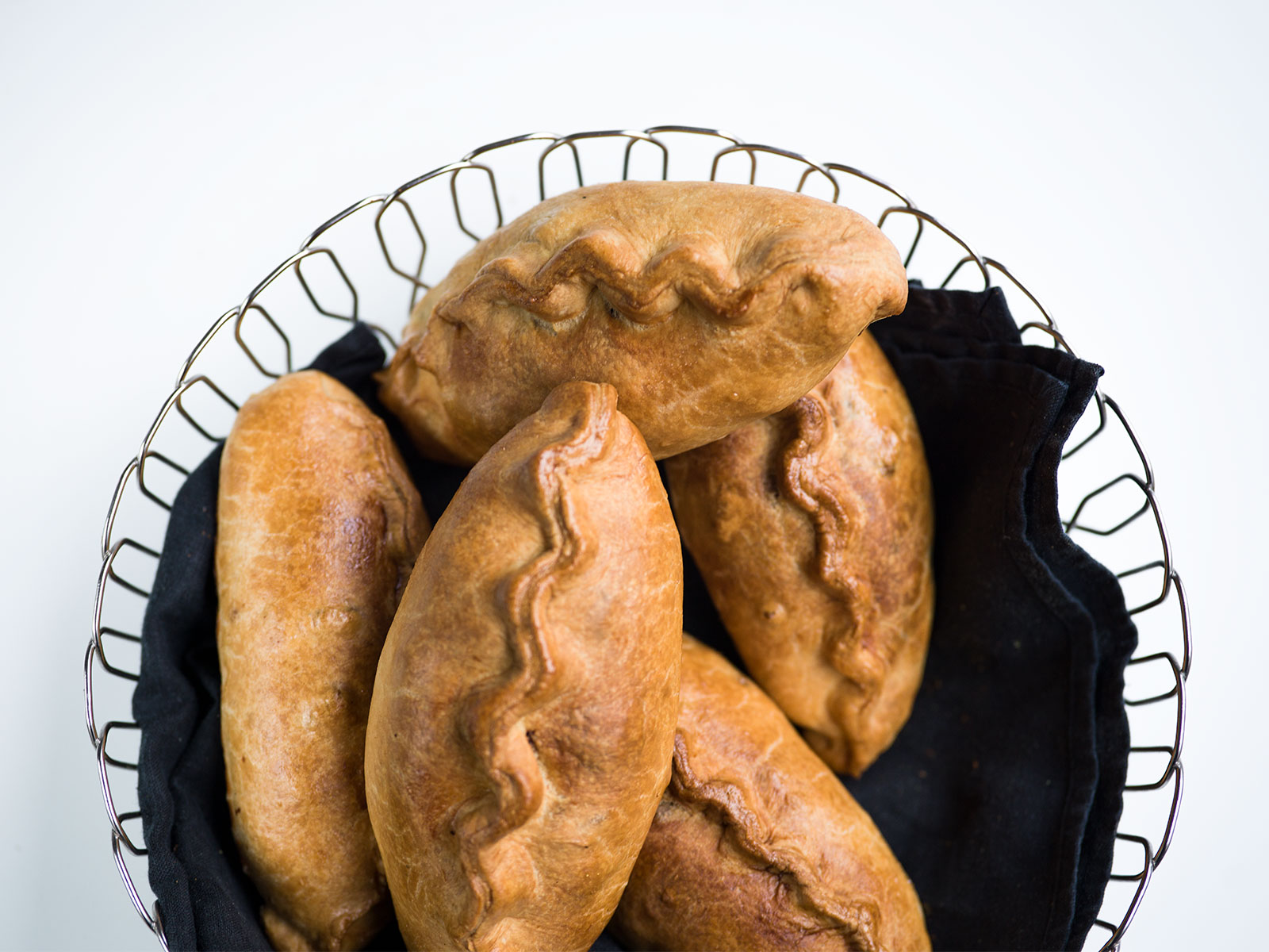 The crimping isn't authentic, but the taste is | Cornish Pasty