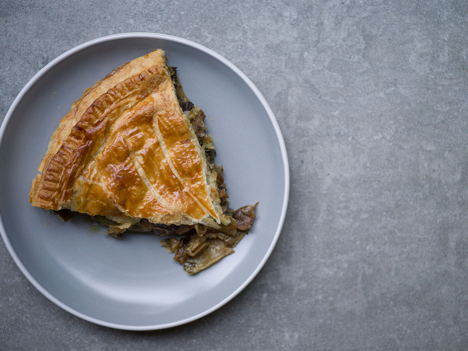 Just one slice | Mixed Mushroom Pithivier