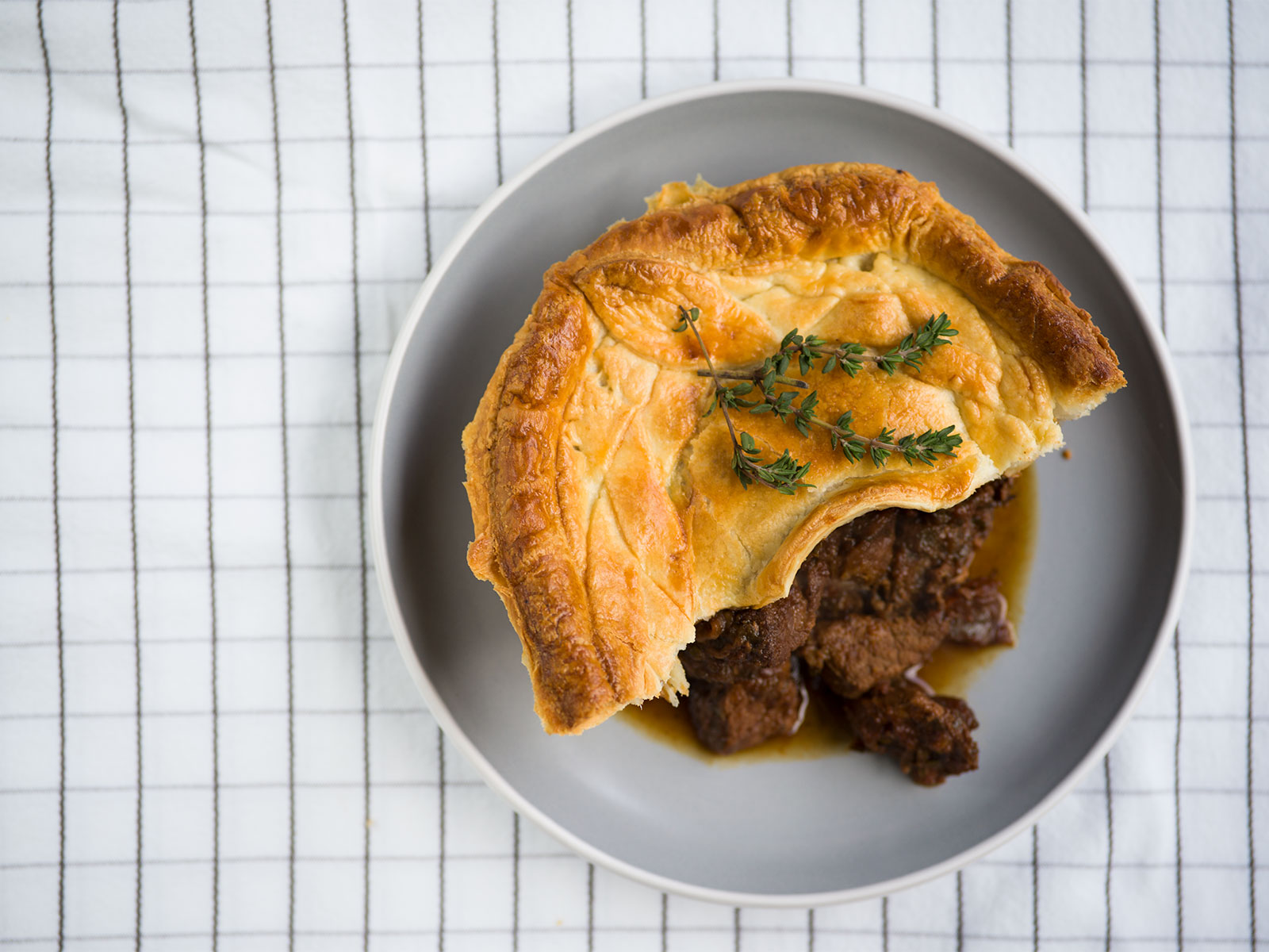 A hearty slice of pie | Beef & Guinness Pie