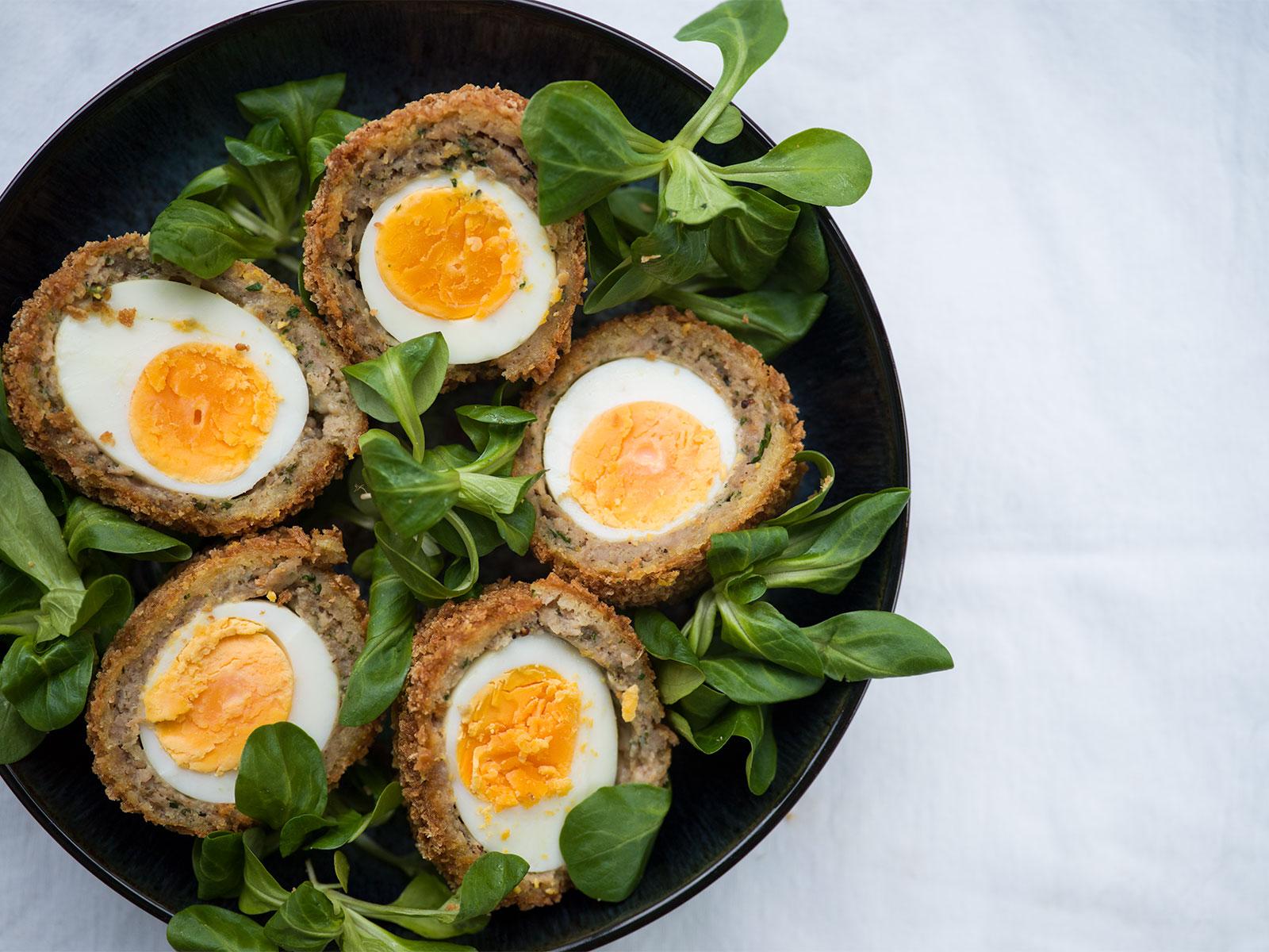 Scotch Eggs - Crispy goodness
