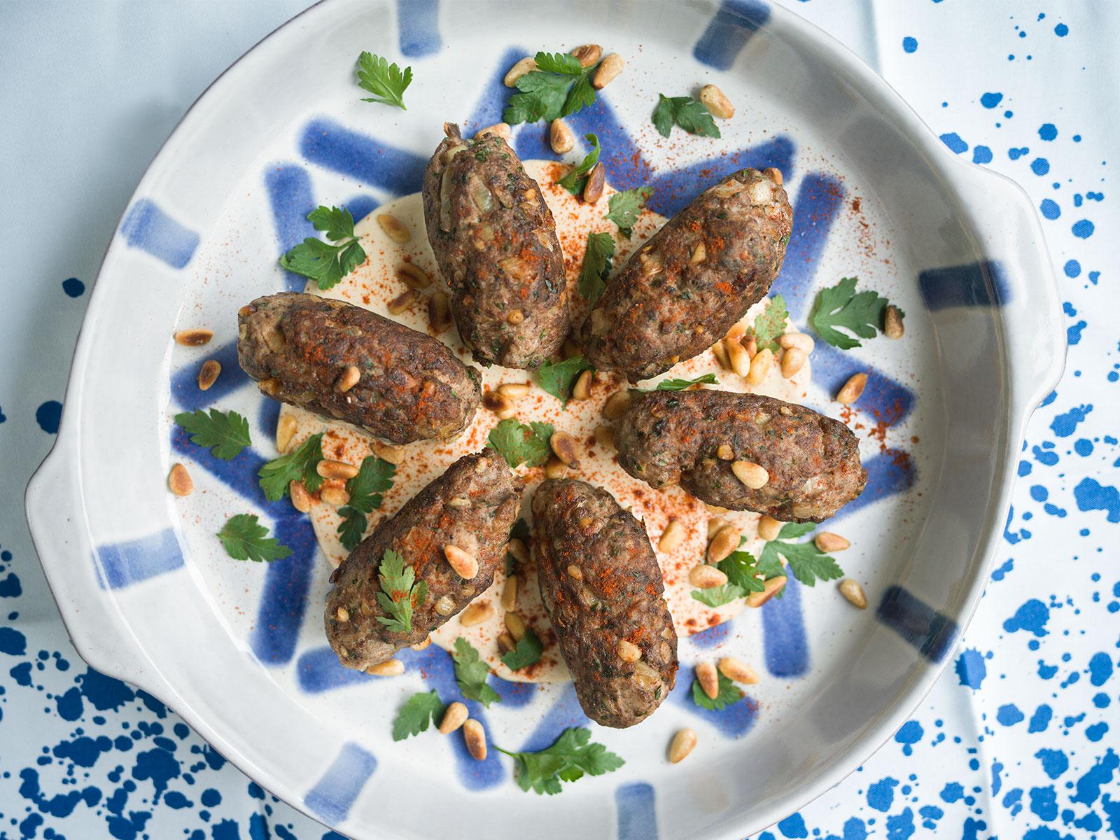 Kofta B'siniyah | recipe by Yotam Ottolenghi & Sami Tamimi