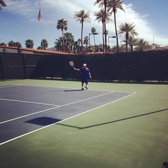 Desert Smash Pro Am tennis with SNL alumni Jon Lovitz.