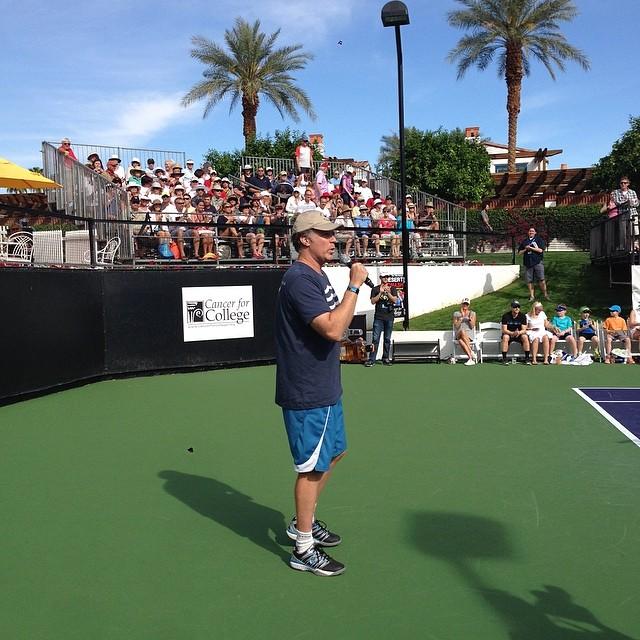 Will Ferrell opens the 10th Annual Desert Smash.
