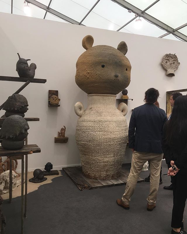 So happy I was able to make it out to #frieze #friezeartfair2019