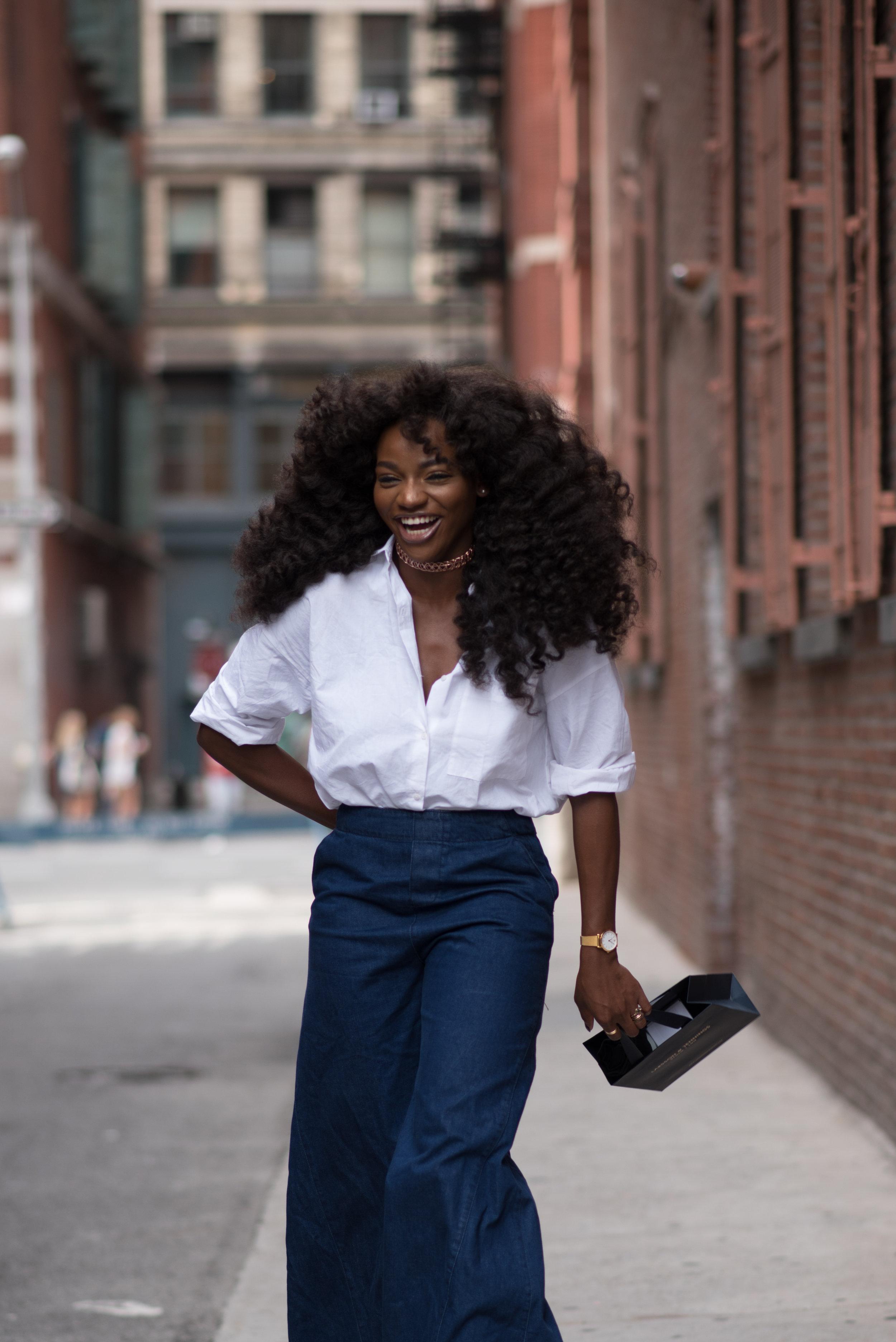 Nigerian Fashion Blogger & Creative Director, Asiyami Gold