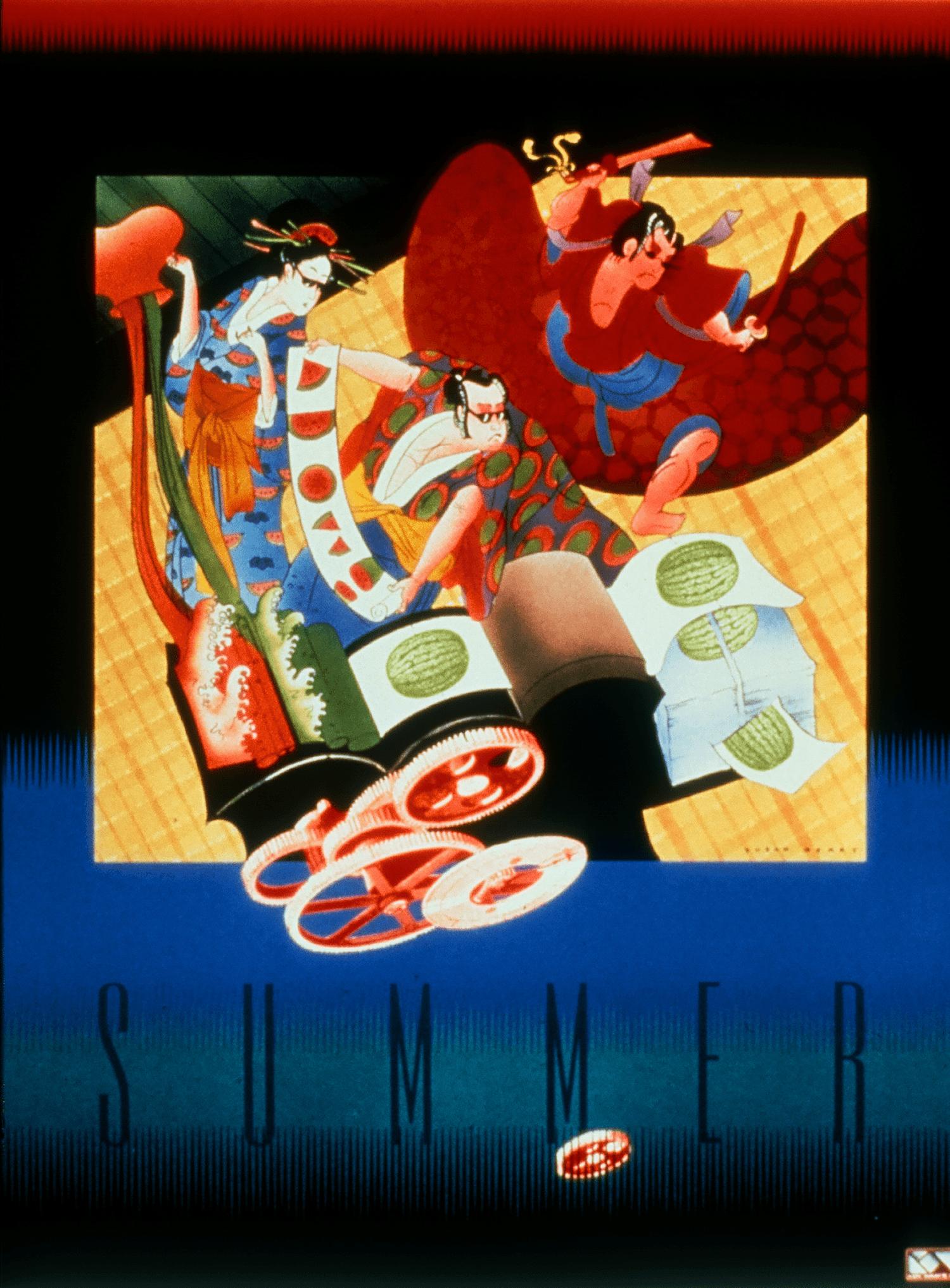 A metaphor as an international award winning poster.
