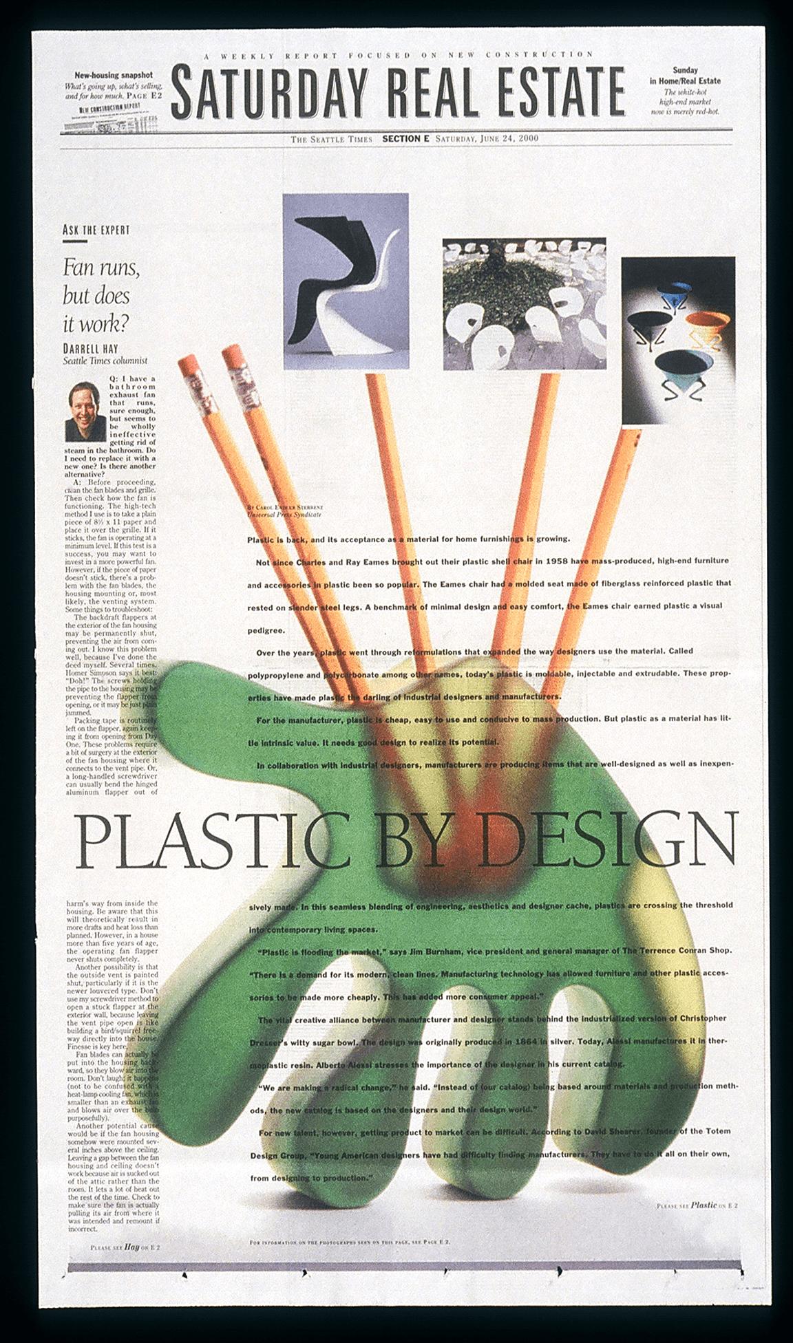 Plastic design.