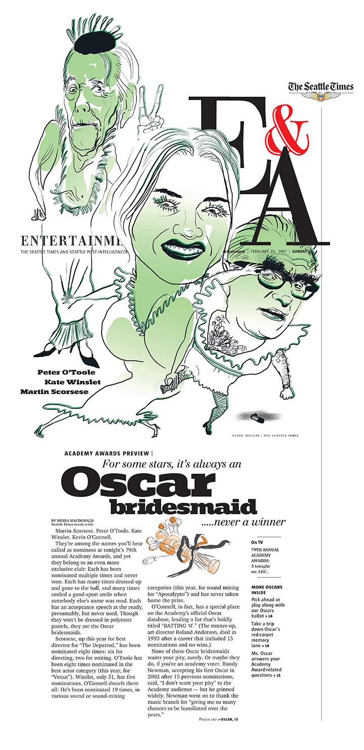 Always Oscar Bridesmaids.