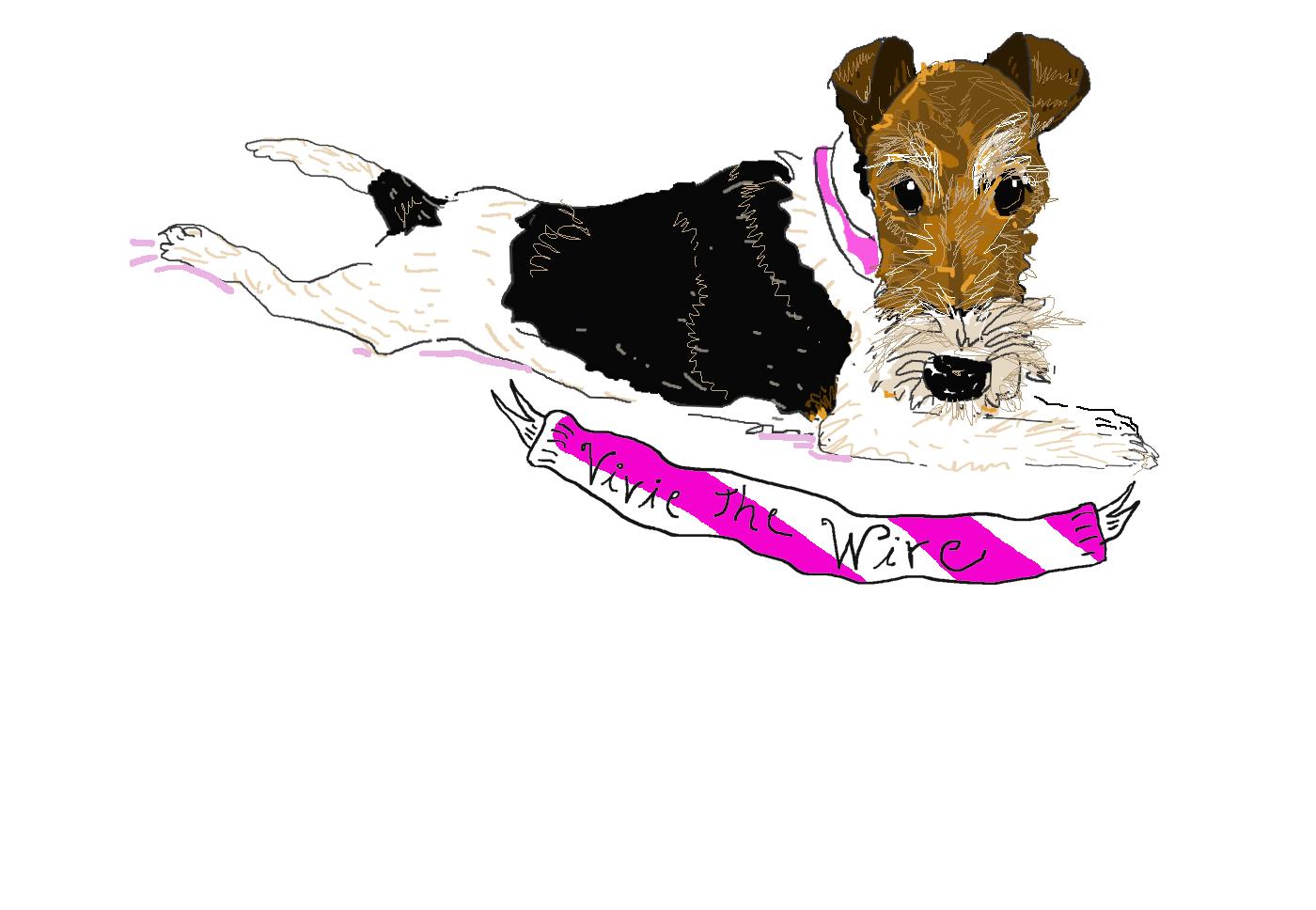 Cover for Vivie's blog.