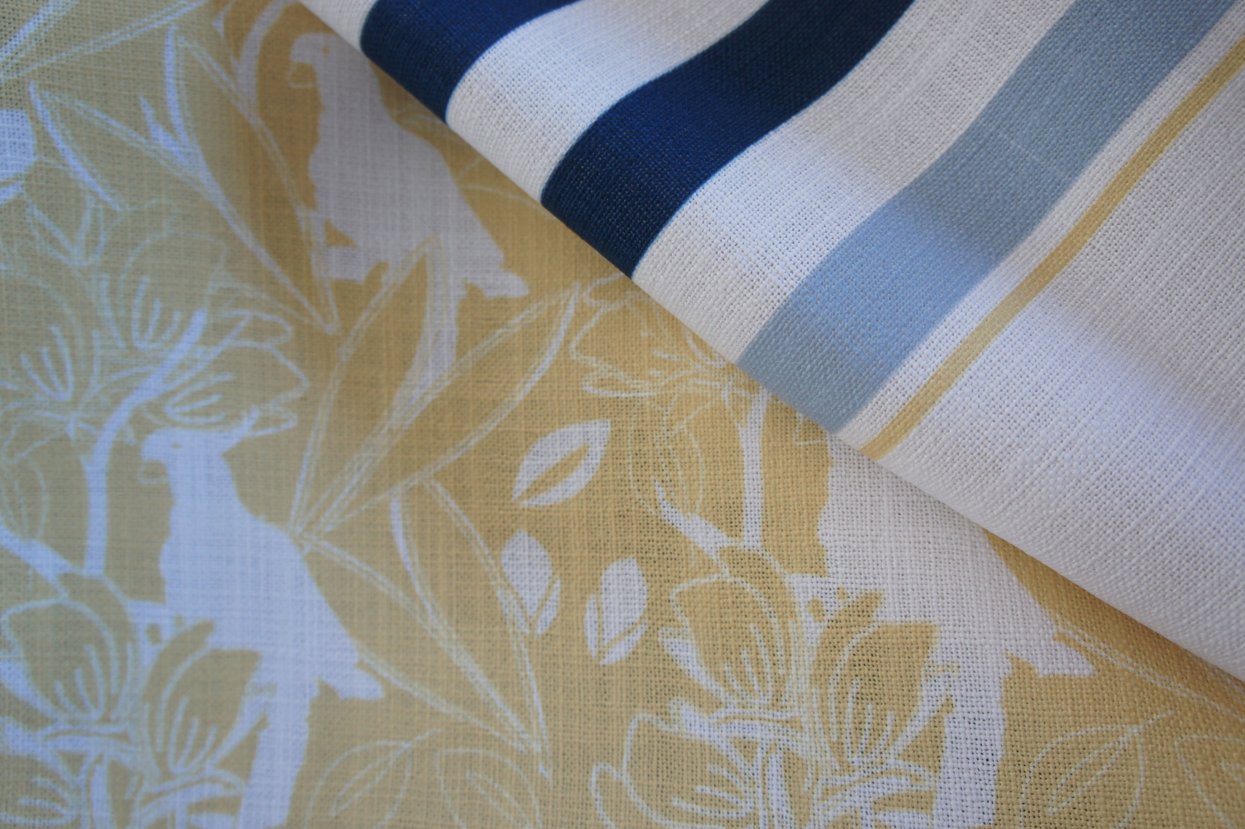 Cockatoo Custom Colour Way with a Custom made Stripe on High Performance Polyester
