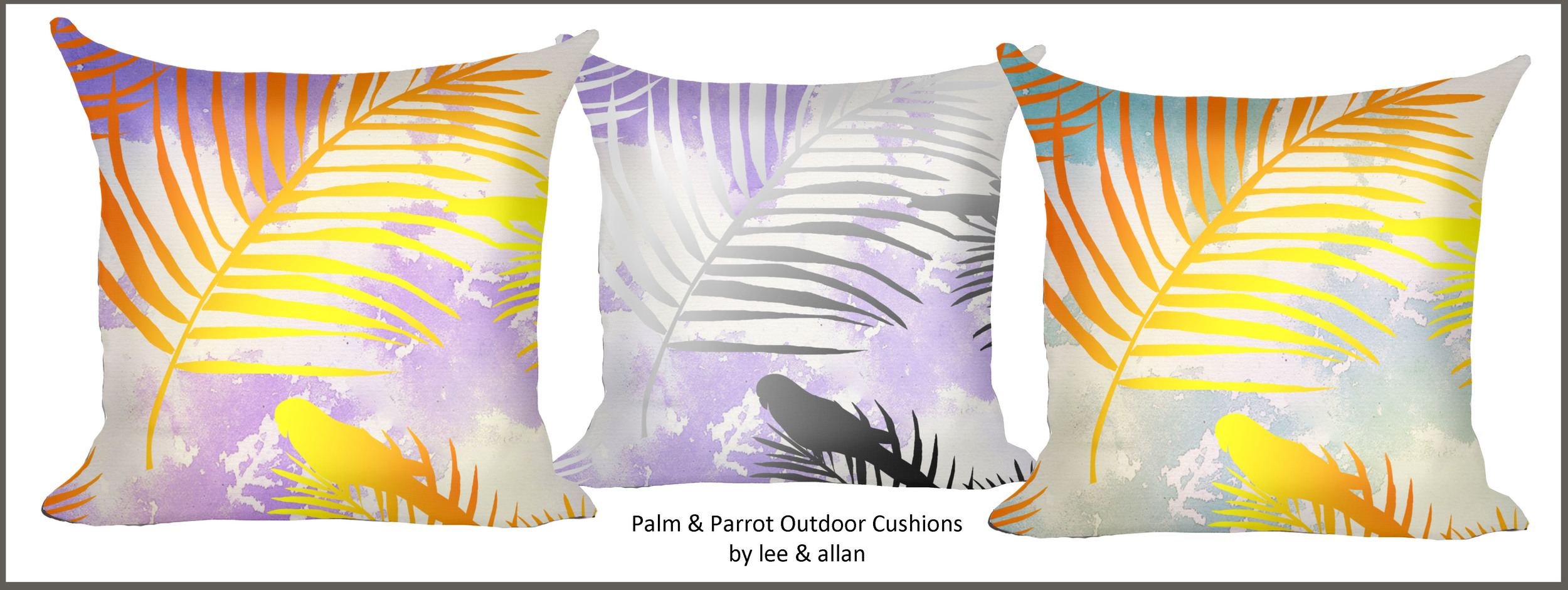 abstract outdoor cushions