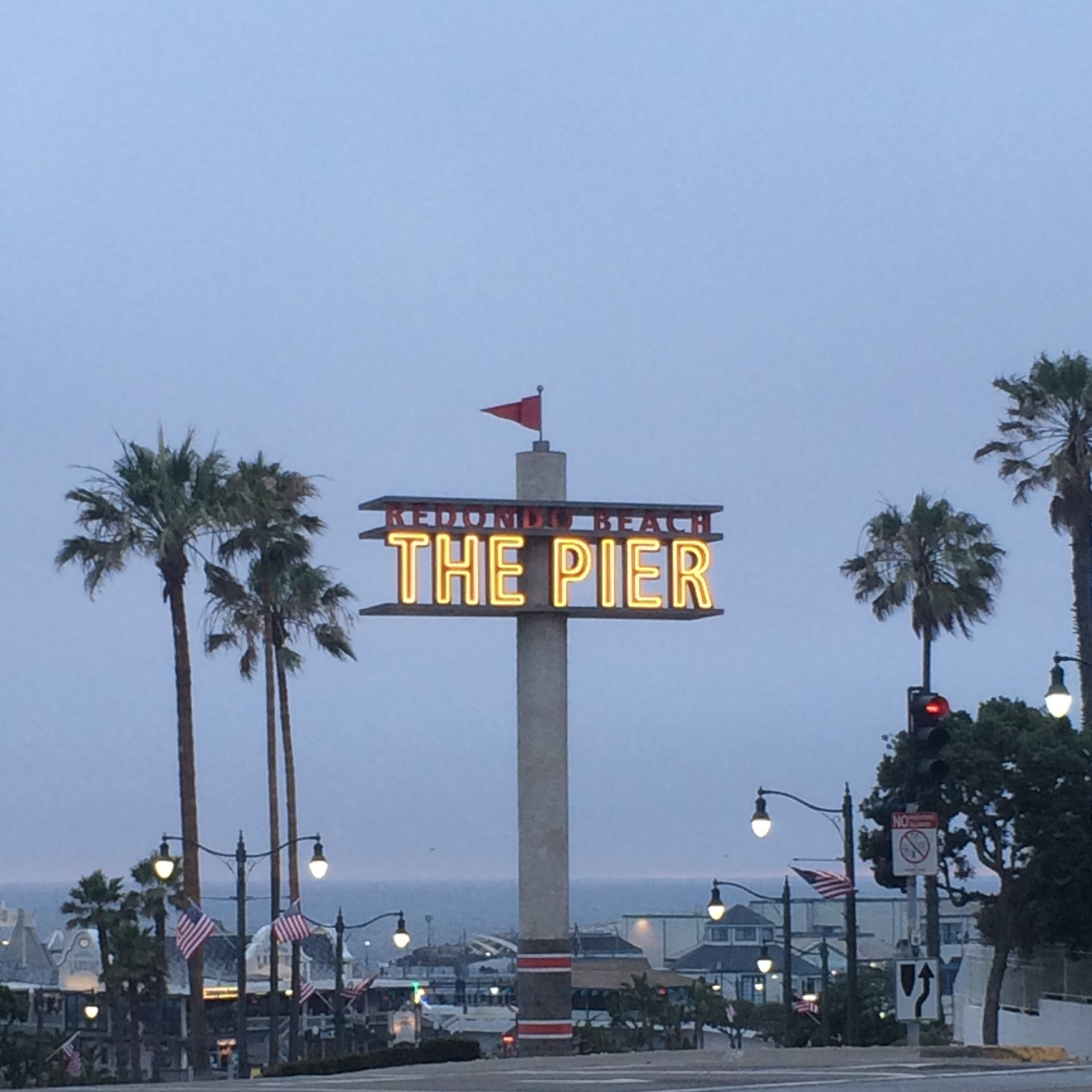 Redondo Beach Pier, near the old Redondo facility and where much evangelism took place.