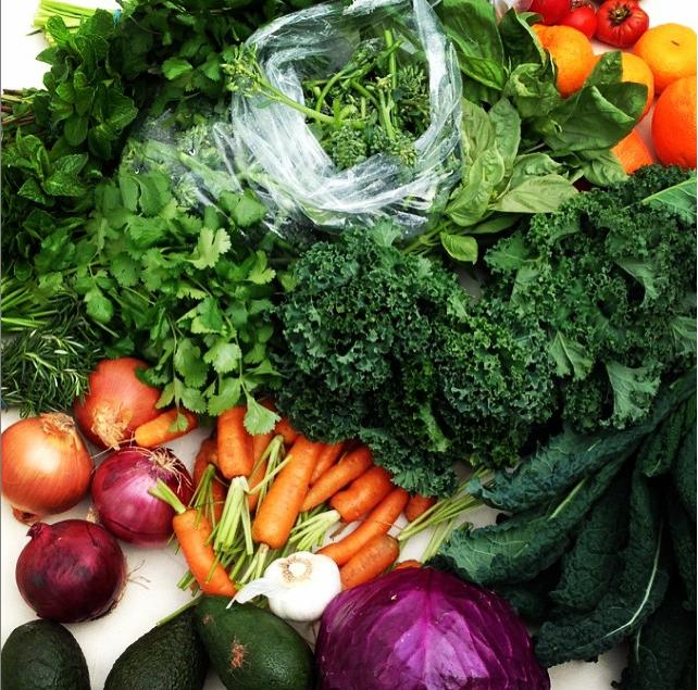 That top-shelf farmer's market veg though...