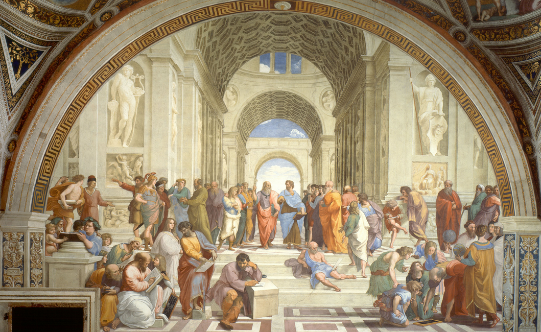 Raphael's  The School of Athens