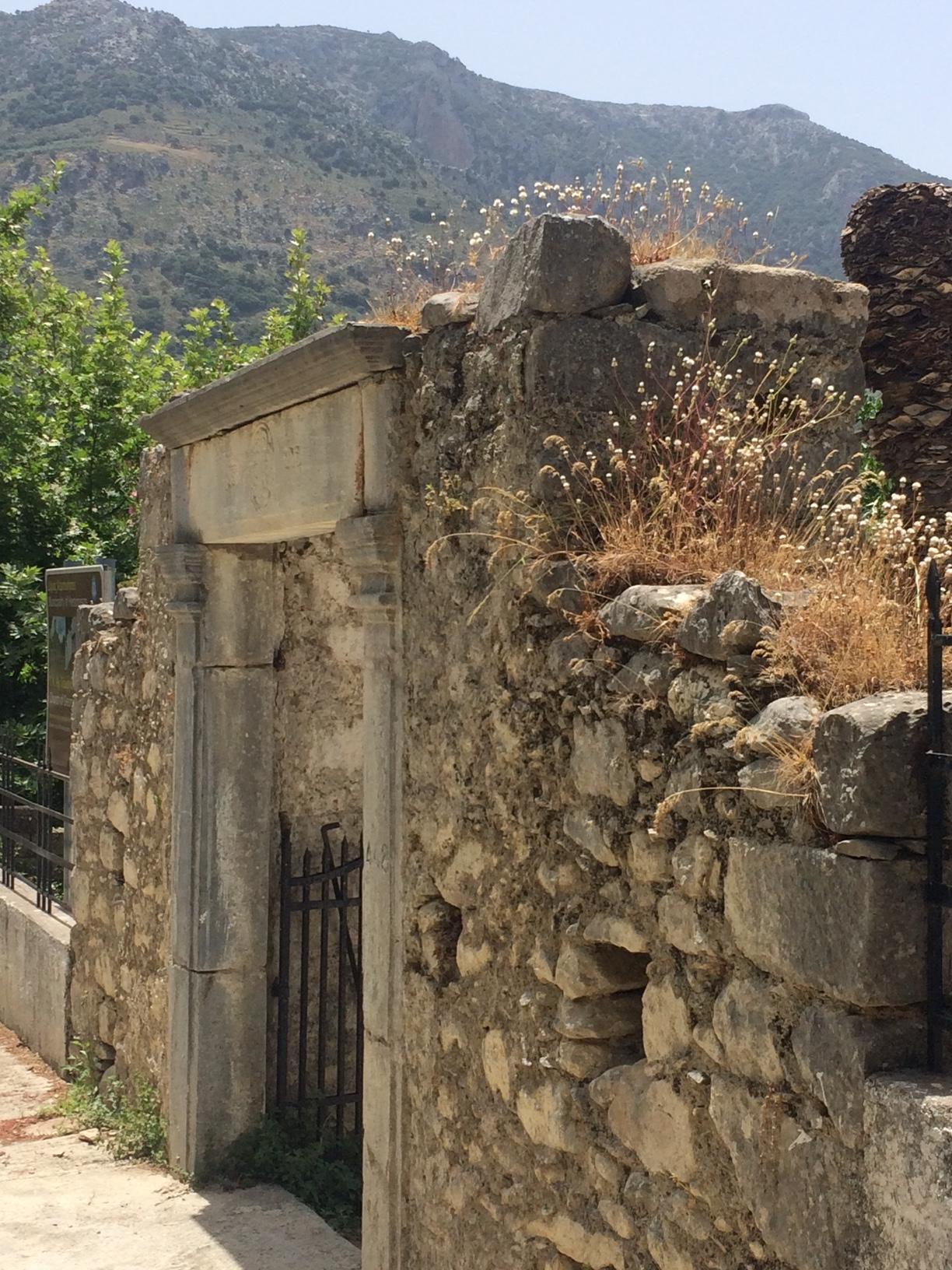 Avdou Village Crete Greece Country Natural Beauty