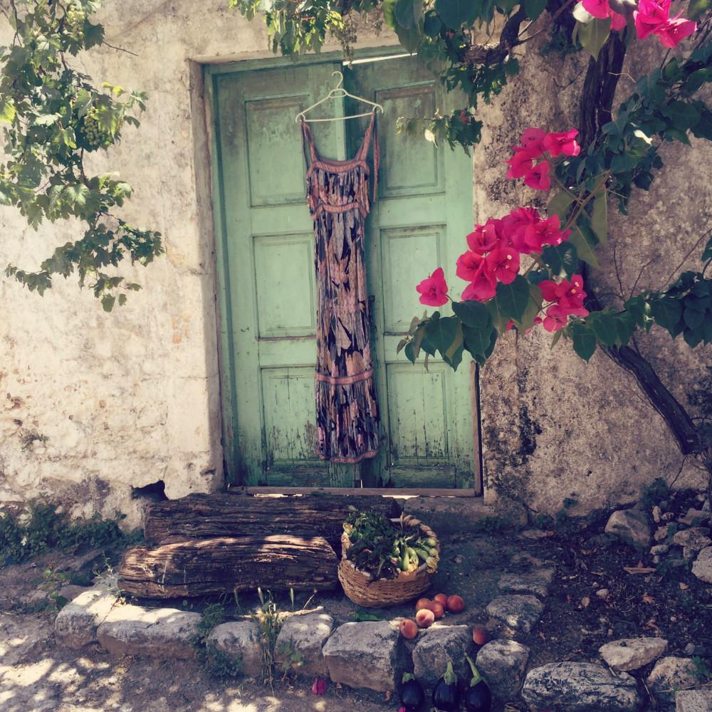 Greece Avdou Stylish Doorway