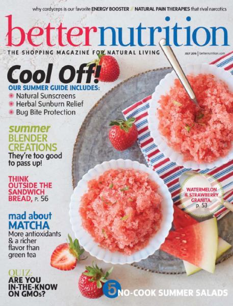 Better Nutrition Magazine, Dr. Michele Burklund