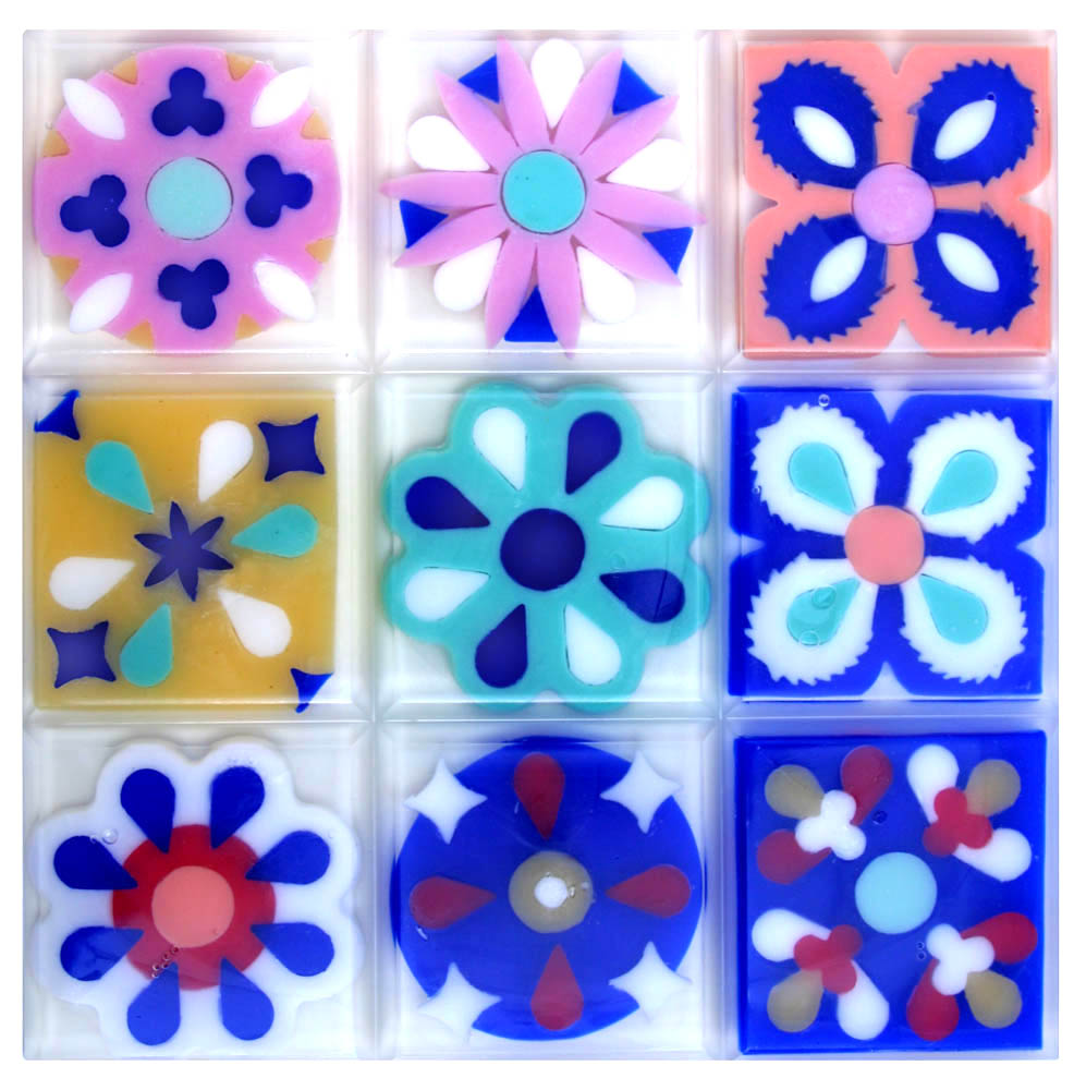 Spanish Tile inspired soap