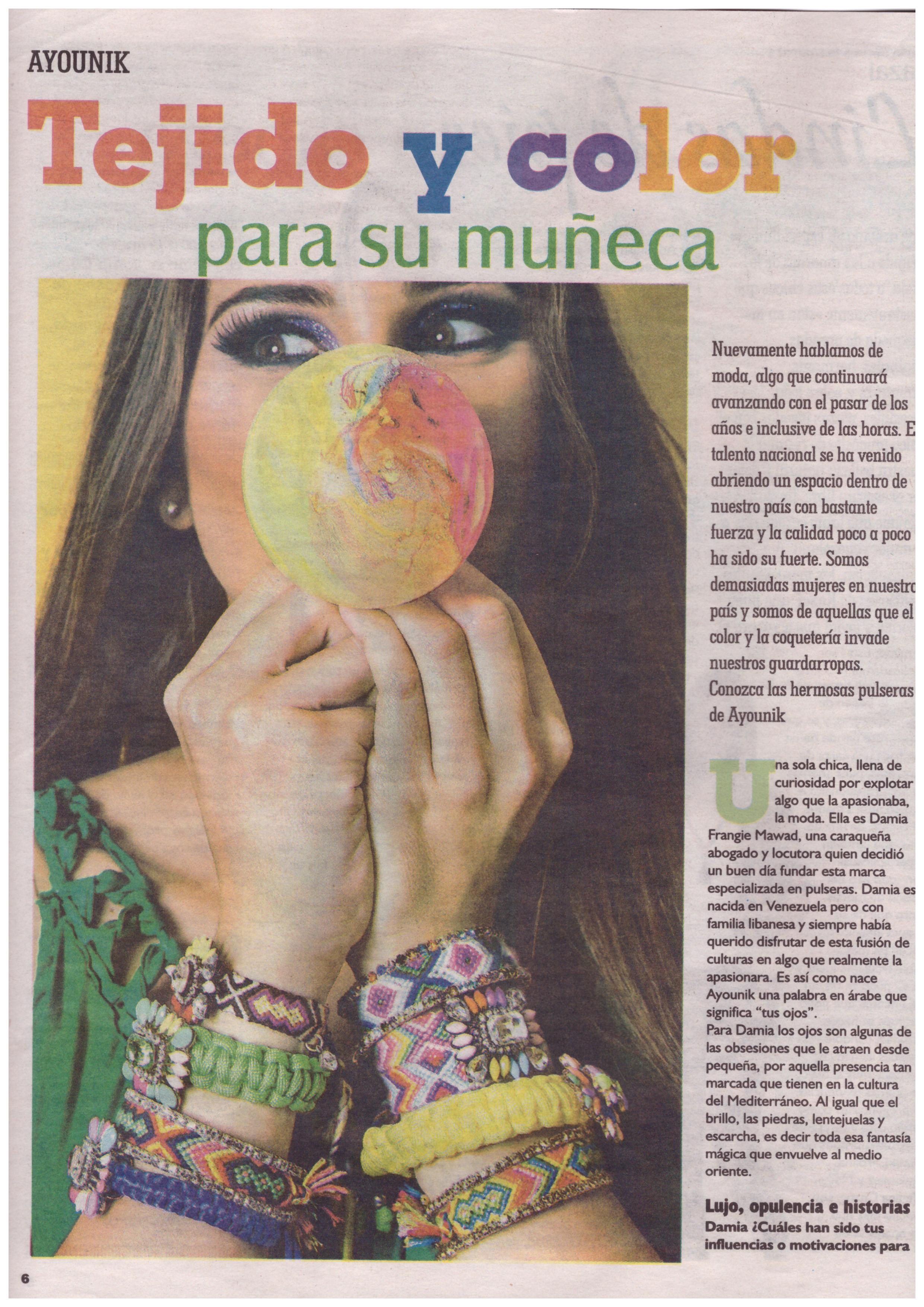 """""""El Impulso"""" newspaper. July 2015. Venezuela"""