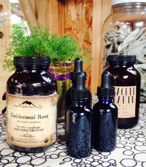 Organic Handmade Goldenseal root tincture