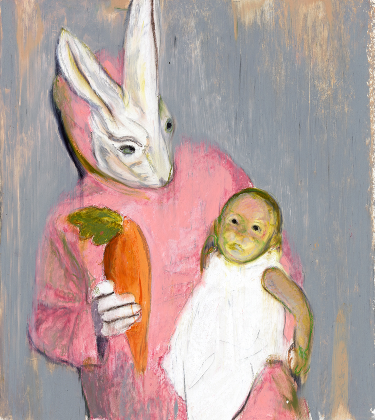 BUNNY AND GREEN BABY