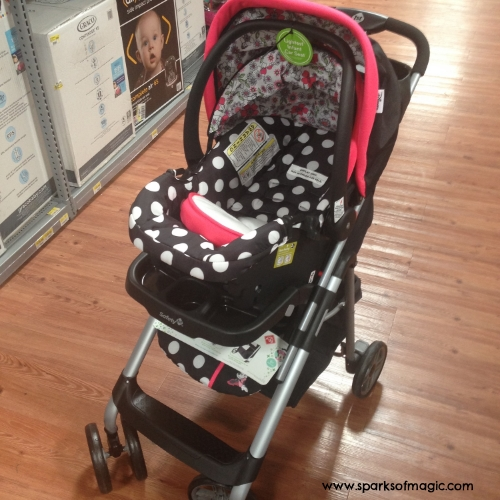 Disney Baby Travel System Coral Flowers Minnie Mouse.jpg