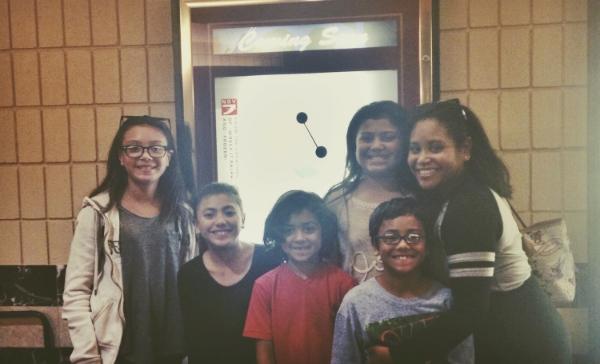 The Big Hero 6 Screening with the kiddos!