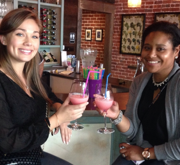 Nothing like a wine slushy with your bestie. Celebrating life and new beginnings with my Disney sister, Sarah!
