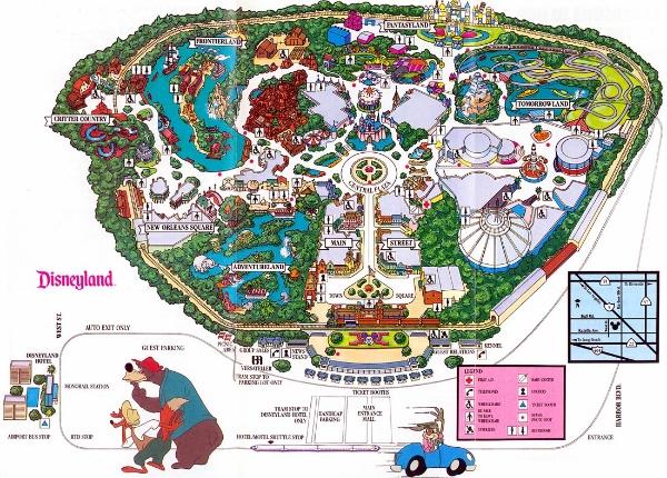 photo credit Themeparkbrochures.net/intellectual property © Disney