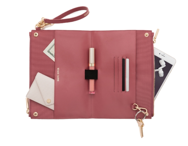 Image via Dagne Dover - The Essentials Clutch Wallet comes in 10 colors!