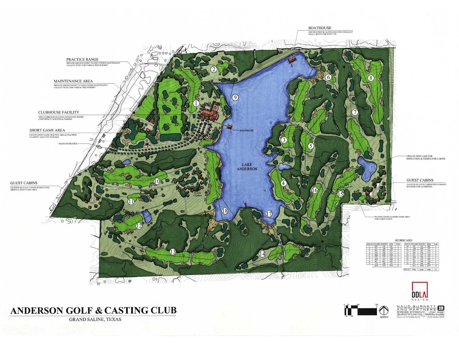 anderson golf & casting club