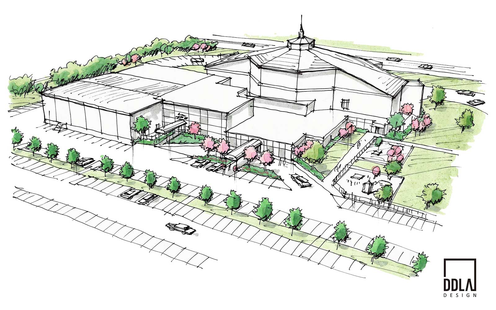 tulsa central church conceptual design