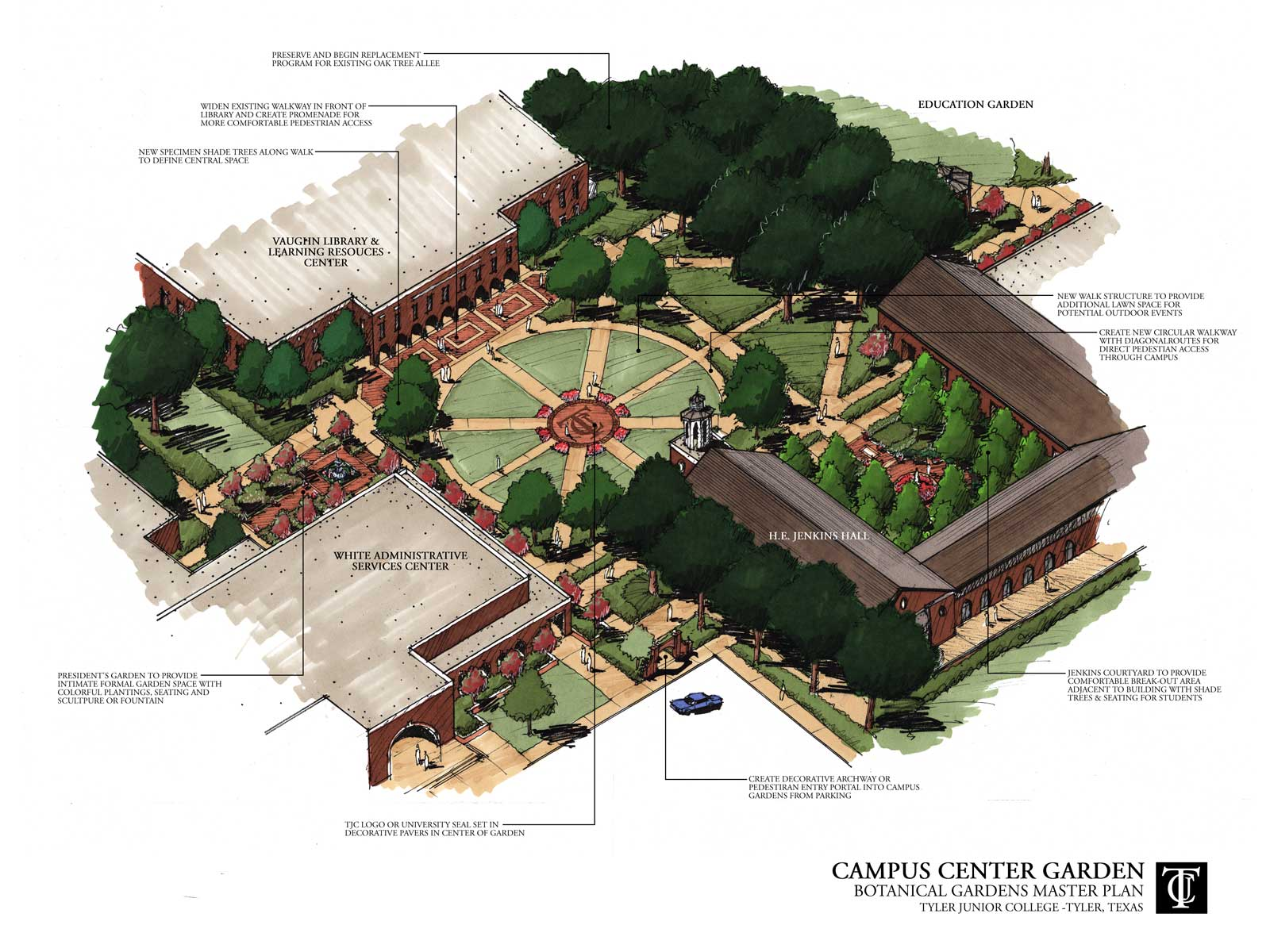 Dallas Landscape Architect | DDLA DesignCommercial