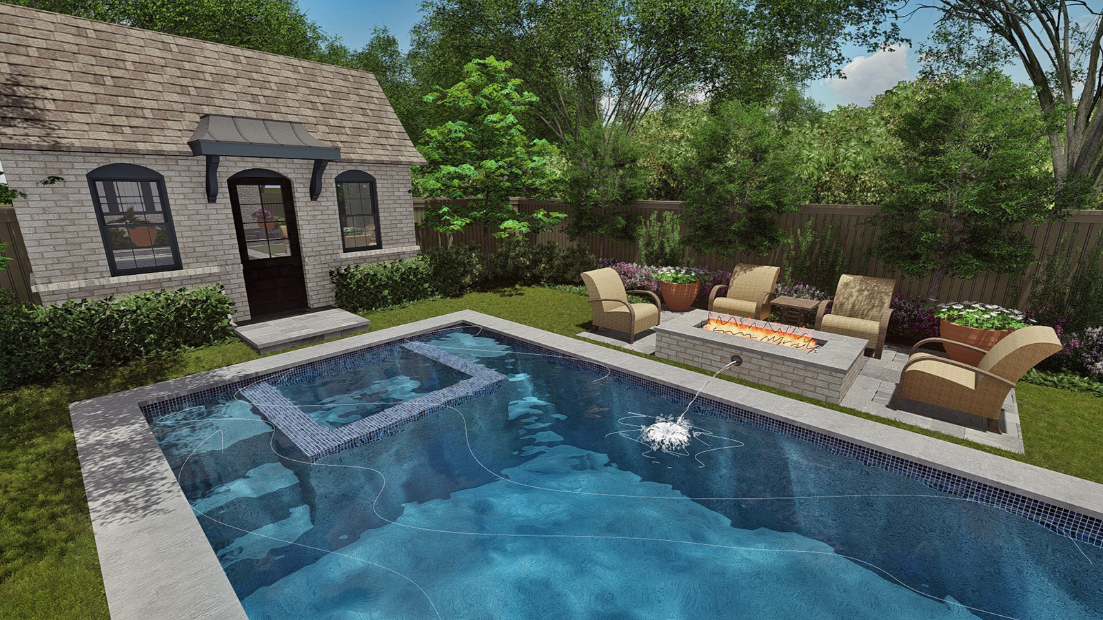 Copy of NEW POOL, SPA & POOL HOUSE